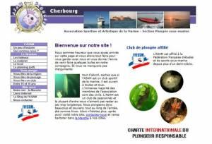 Cliquez sur l'image pour accéder au site Web de l'ASAM Plongée Cherbourg
