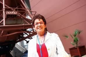 Michèle Fructus, PDG de la Comex à La Cité de la Mer en 2007 © La Cité de la Mer / Sylvain Guichard