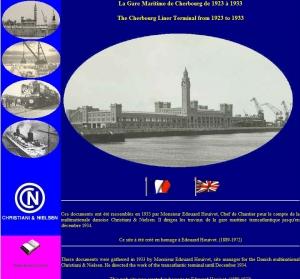 La Gare Maritime Transatlantique de Cherbourg de 1923 à 1933