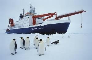 """Le navire de recherche polaire allemand """"Polarstern"""" © AWI"""