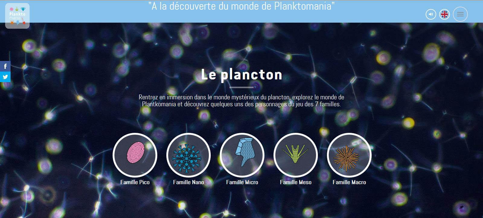 Cliquez sur l'image pour accéder au site Planktomania