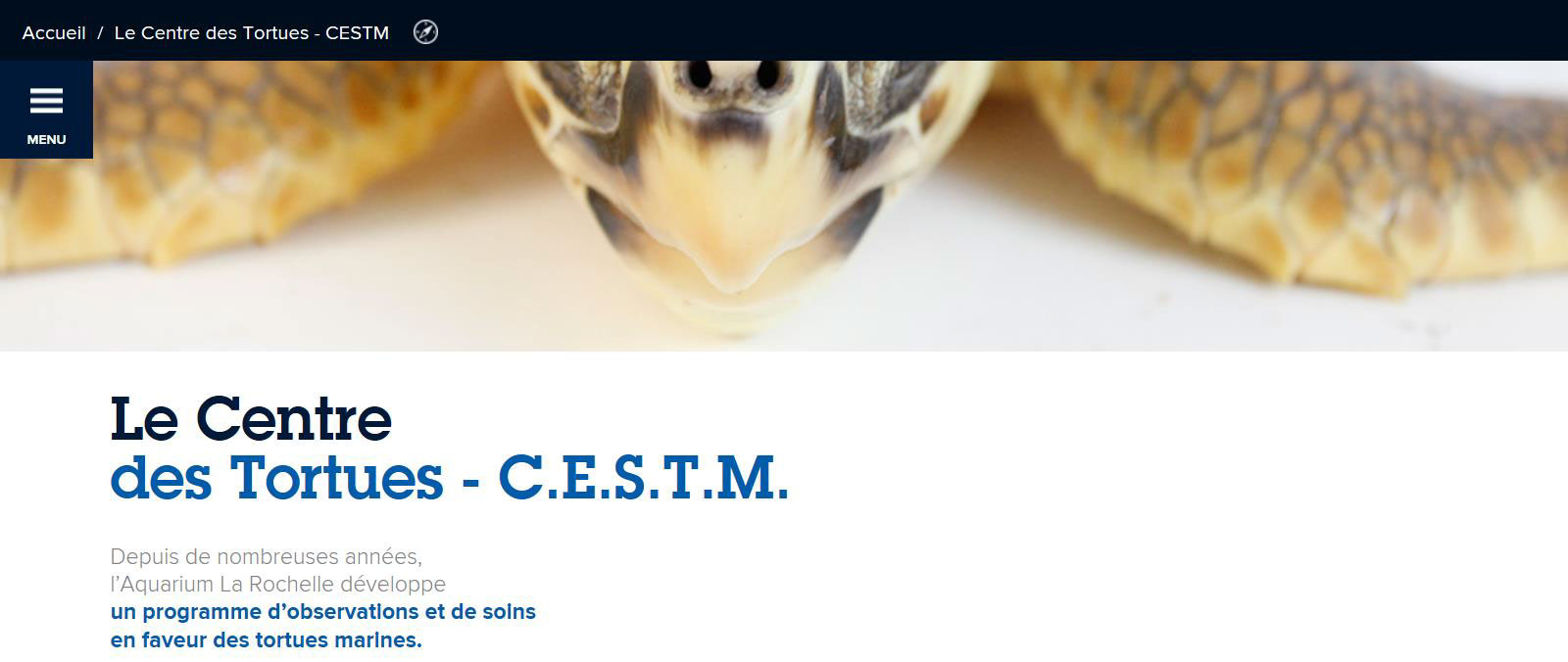Le Centre des Tortues - CESTM