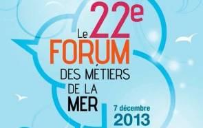 Affiche du Forum des Metiers de la Mer 2013 © Institut Océanographique