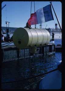 L'habitat sous-marin Diogène, 1962 © MIT Museum