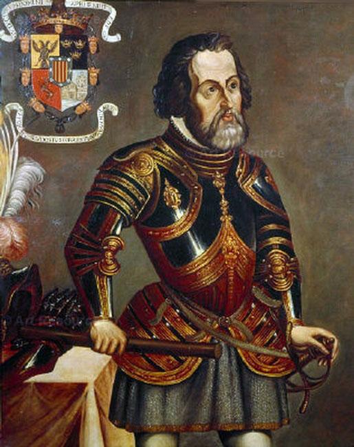 Portrait Hernán Cortés