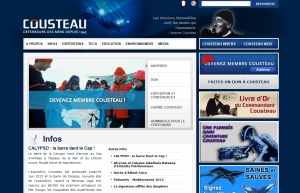 Cousteau Society and environmental protection