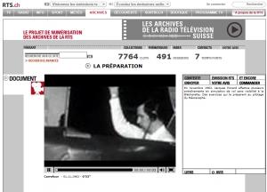 Le mésoscaphe - TSR (1er novembre 1963)