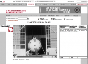Le mésoscaphe - TSR (13 novembre 1967)