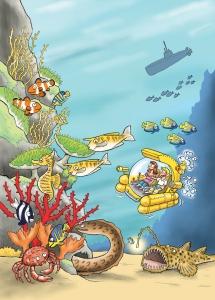 Les animaux marins expliqués aux enfants