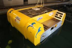Le système Iswec est conçu spécifiquement pour la Méditerranée car elle n'utilise pas l'amplitude des vagues, mais leur fréquence © Wave for Energy
