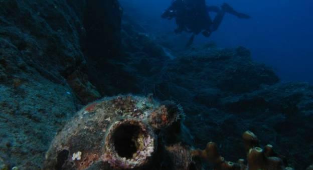 Fonds sous-marins, Lesbos, Grèce © Mission Blue