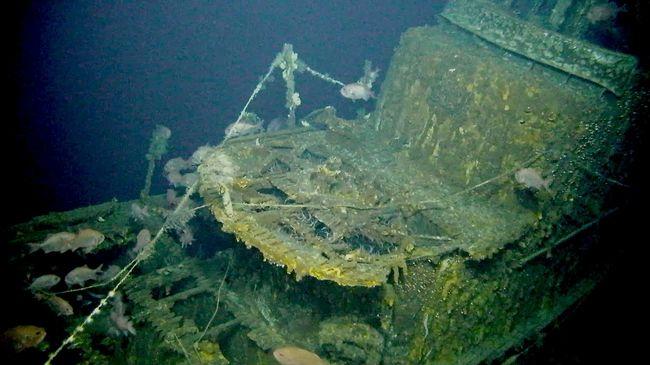L'épave du sous-marin USS Grayback a été découverte au large du Japon © Tim Taylor - Lost 52 Project