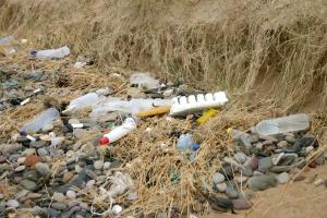 Des macro-déchets sur les plages