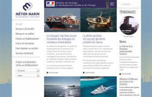 Cliquez sur l'image pour accéder au site Web Métier : Marin