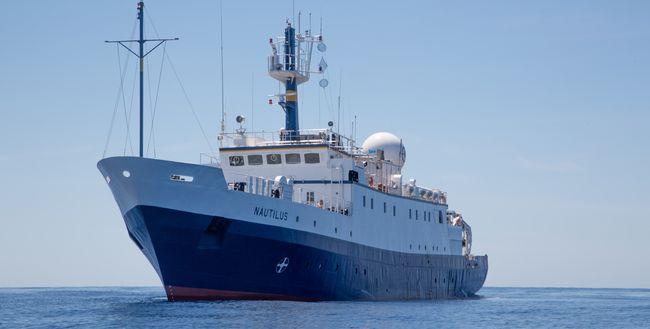 Le navire d'exploration Nautilus © Nautilus Live / Ocean Exploration Trust