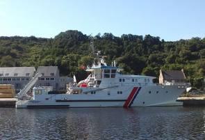 L'André Malraux, navire de recherche archéologique du DRASSM © Tounoki