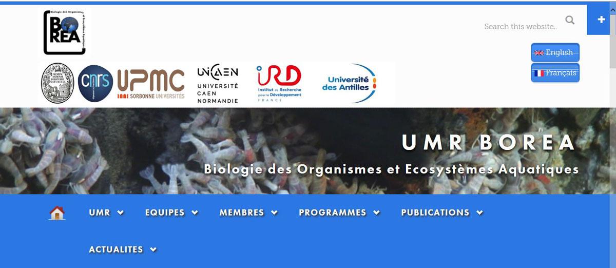 BOREA -Biologie des Organismes et Ecosystèmes Aquatiques