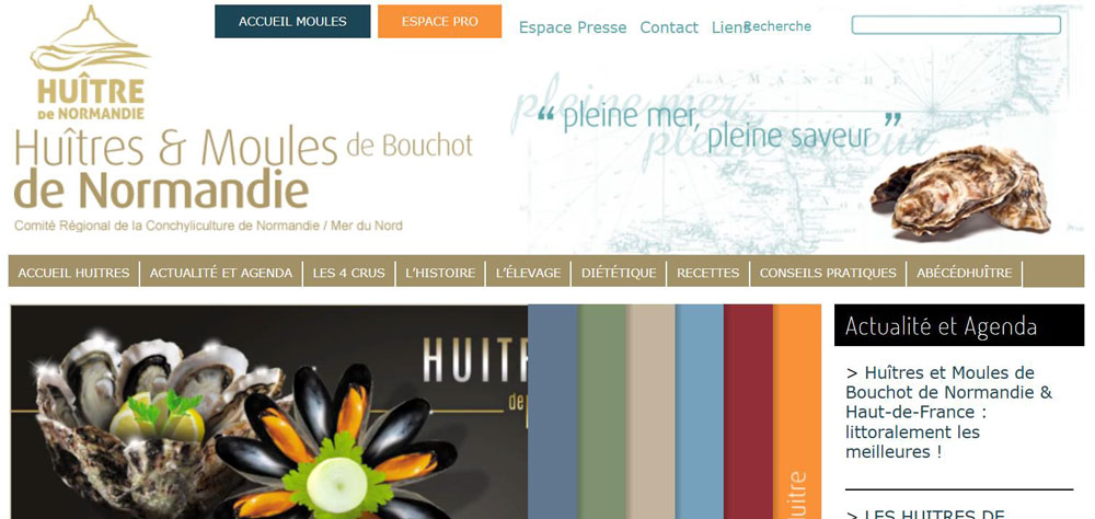 Comité Régional de Conchyliculture de Normandie / Mer du Nord