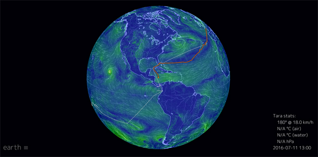Cliquez sur l'image pour accéder au site Web EARTH