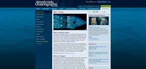 Cliquez sur l'image pour accéder au site Web Discovery of RMS Titanic - Woods Hole Oceanographic Institution