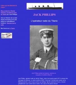 Cliquez ici pour accéder au site sur Jack Phillips l'opérateur radio du Titanic