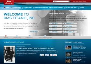 Cliquez sur l'image pour accéder au site Web RMS Titanic