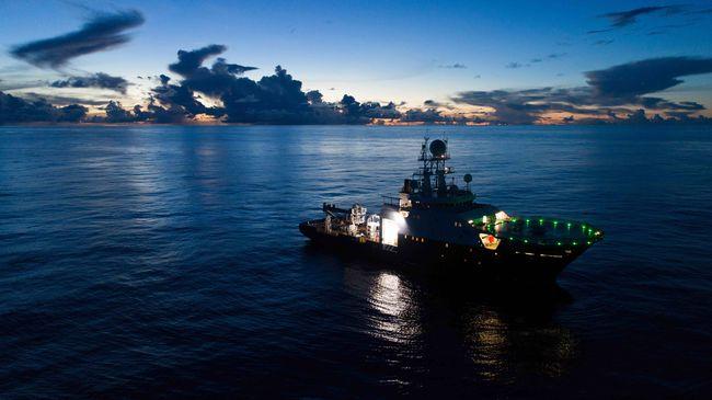Le navire de recherche américain RV Petrel © Vulcan Inc.