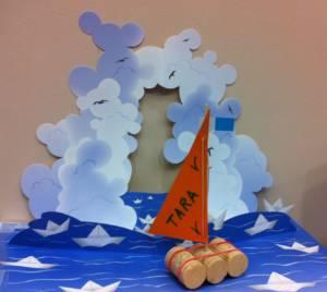 Activité bricolage : fabriquez votre bateau à la Médiathèque de La Cité de la Mer © La Cité de la Mer