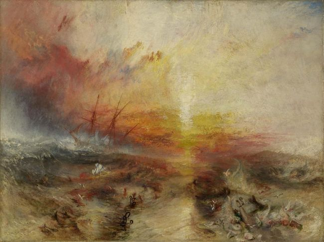 Slave Ship (Le bateau négrier), peinture de Joseph Mallord William Turner, 1840 © Museum of Fine Arts Boston