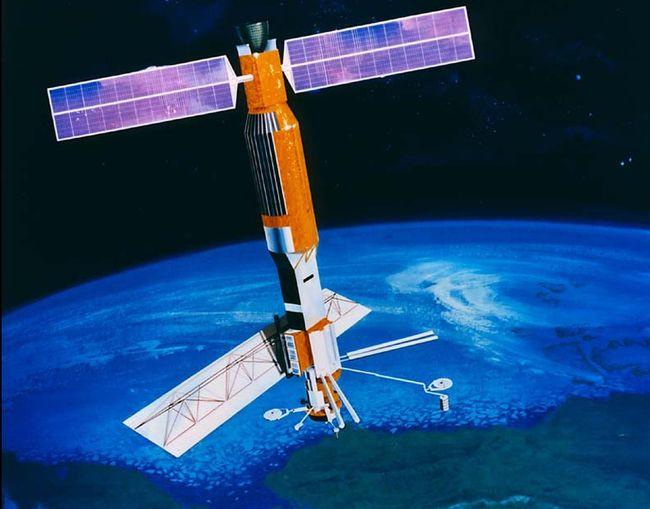 Le 1er satellite océanographique Seasat est lancé le 26 juin 1978 © NASA