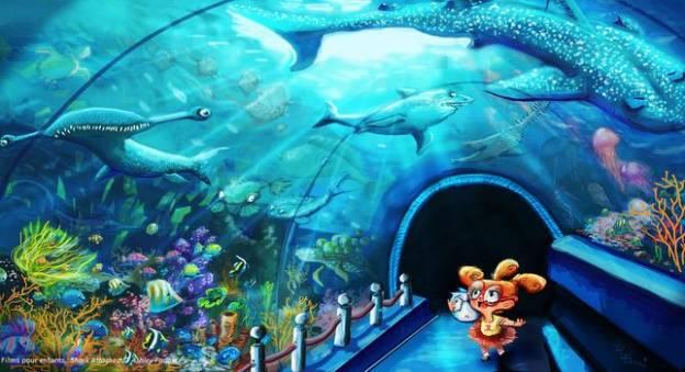 Films pour enfants : Shark Attached © Ashley Farlow