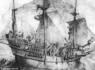 Gravure d'un navire du 15e siècle similaire à l'épave découverte en mer Baltique © Mercury Press