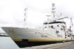 Le navire Thalassa en escale à Cherbourg le 30 septembre 2019 dans le cadre de la mission CGFS © La Cité de la Mer