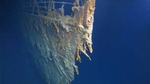 La proue du Titanic filmée début août 2019 © Atlantic Productions