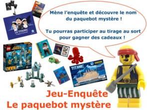 Jeu-enquête Le paquebot mystère © La Cité de la Mer