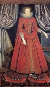 Portrait de la Comtesse Catherine Howard ((née Catharina Knyvett)  © William Larkin